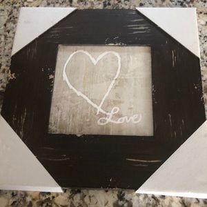 "Other - Brand new ""Love"" wall art"